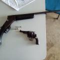 Sertão: dupla é presa com armas e caça niqueis são apreendidos