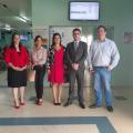 Juízes federais conhecem instalações e funcionamento do Hospital de Santana