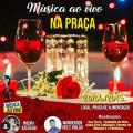 Feriado tem música ao vivo na praça em Santana do Ipanema