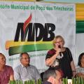 MDB oficializa Diretório Municipal em Poço das Trincheiras