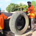 Governo de Alagoas realiza campanha de recolhimento de pneus