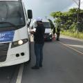 Arsal suspende veículo que descumpria decreto de combate a Covid em AL