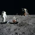 A maior descoberta das viagens à Lua foi a Terra