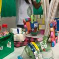 Projeto do Ifal Santana que levar conscientização da reutilização do lixo em escolas