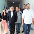 Secretário de Saúde do Estado de AL visita Hospital de Santana do Ipanema