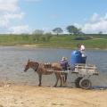 FPI chama a atenção para poluição em reservatório em Major Izidoro