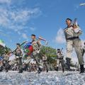 Desfile da Independência atrai mais de 12 mil pessoas a Jaraguá