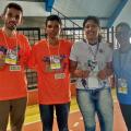 Estudante santanense conquista medalha na modalidade xadrez do JEAL