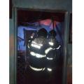Bombeiros debelam incêndio de residência em Olho d'Água das Flores