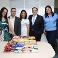 Hospital Regional de Santana doa alimentos arrecadados em eventos