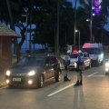 Mais de 30 motoristas são autuados por irregularidades no réveillon