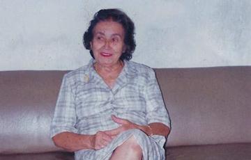 Morre em Campina Grande, santanense irmã do pioneiro do cinema no Sertão