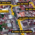 Maceió: Contorno de quadra na Bomba do Gonzaga passa a valer nesta 2ª