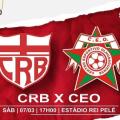 Para ficar vivo no Campeonato Alagoano, CEO tenta vencer CRB neste sábado (7)