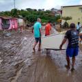 142 famílias registram perdas após enchente em Santana do Ipanema