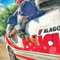 Radiopatrulha recupera moto roubada em Santana do Ipanema