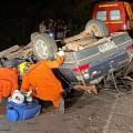 Duas pessoas morrem e outra fica ferida em acidente em Delmiro Gouveia