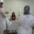 Paciente em tratamento da Covid-19 comemora aniversário no HE do Agreste