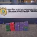 PRF apreende mais de 50kg de pasta base de cocaína, na BR 101 em Alagoas