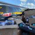 Dupla é presa transportando mais de 5 mil munições sem nota fiscal em Alagoas