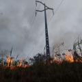 Queimadas deixam mais de 160 mil clientes sem energia
