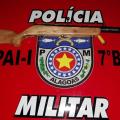 PM prende homem armado e outro embriagado em Olivença