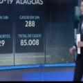 JN destaca queda constante de mortes por Covid-19 em Alagoas