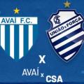 Avaí e CSA empatam em 1 a 1 em jogo pelo Brasileirão da Série B