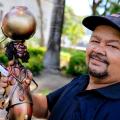 Artesão autodidata transforma sucata em esculturas no Sertão de Alagoas