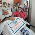 Após 138 dias internada, sertaneja vence a Covid-19 e deixa hospital