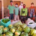 Emater inicia cronograma semanal com entrega de quase 3 toneladas de alimentos