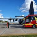 Bombeiros de AL recebem vítimas de acidente de MG em chegada na Bahia
