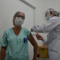 Alagoas tem 33.450 trabalhadores da saúde vacinados contra a Covid-19