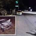 Carro que trazia paciente de Maceió sofre acidente na AL 220 em Batalha