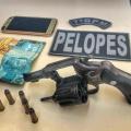 Pelopes prende foragido da Justiça armado em São José da Tapera