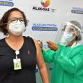 Vacinados contra a Covid-19 em Alagoas chegam a 24.702