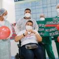 Dez manauaras receberam alta dos hospitais Metropolitano e da Mulher