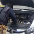 PRF prende motorista com carro roubado na BR 316 em Santana