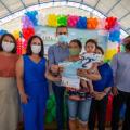 Estado entrega cartões CRIA em Santana; 3,6 mil famílias devem receber em 2021