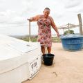 Governo do Estado entrega 50 cisternas de primeiro uso em Olivença