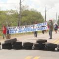 Famílias do MST em Atalaia bloqueiam BR 316 contra corte de água