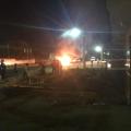 Colisão entre moto e caminhão na BR-316 causa incêndio e deixa vítima grave
