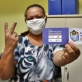 Profissionais do Hospital de Santana recebem 2ª dose da vacina contra Covid