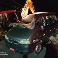 Sertão: Colisão entre van e veículo pesado deixa duas pessoas feridas na AL 220