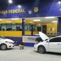 Em Santana do Ipanema, PRF localiza carros com queixas de roubo