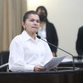 Deputada leva pedido de donos de postos de combustíveis para redução no ICMS