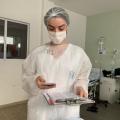 Nutricionista do HEA cria aplicativo para assistência a pacientes com Covid-19