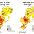 Monitor de Secasregistra piora nas condições de seca no Nordeste em março