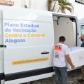 Covid: AL distribuiu mais de um milhão de doses de vacinas para os municípios