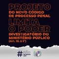 MP alerta para PL que limita poder de investigação do órgão publico